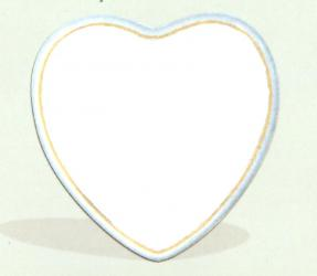Heart Photo Plaque